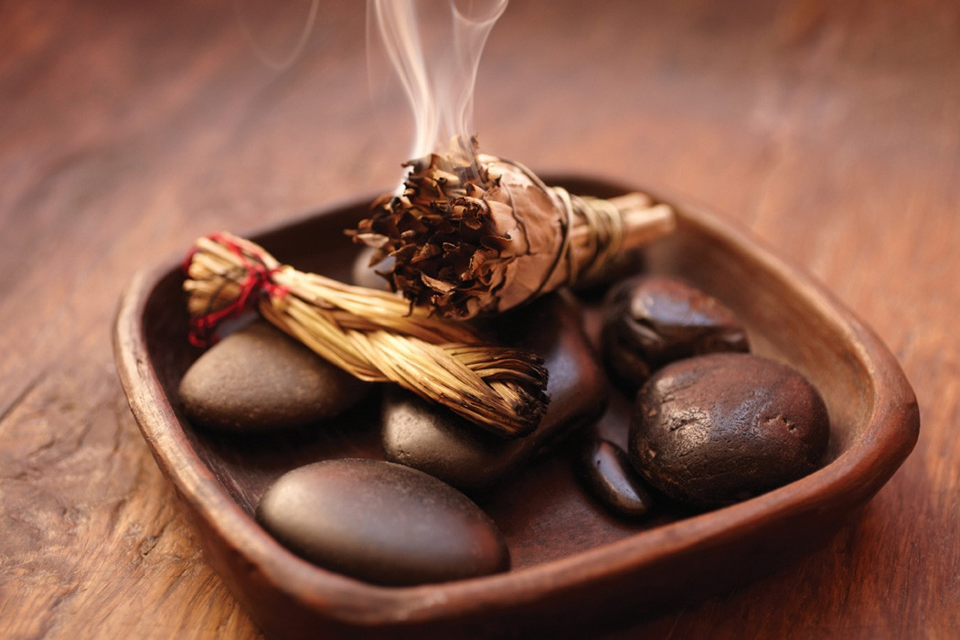Smudging your home