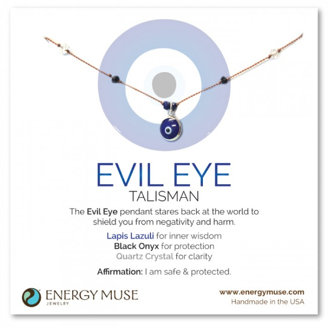 Evil eye jewelry - Energy Muse Blog