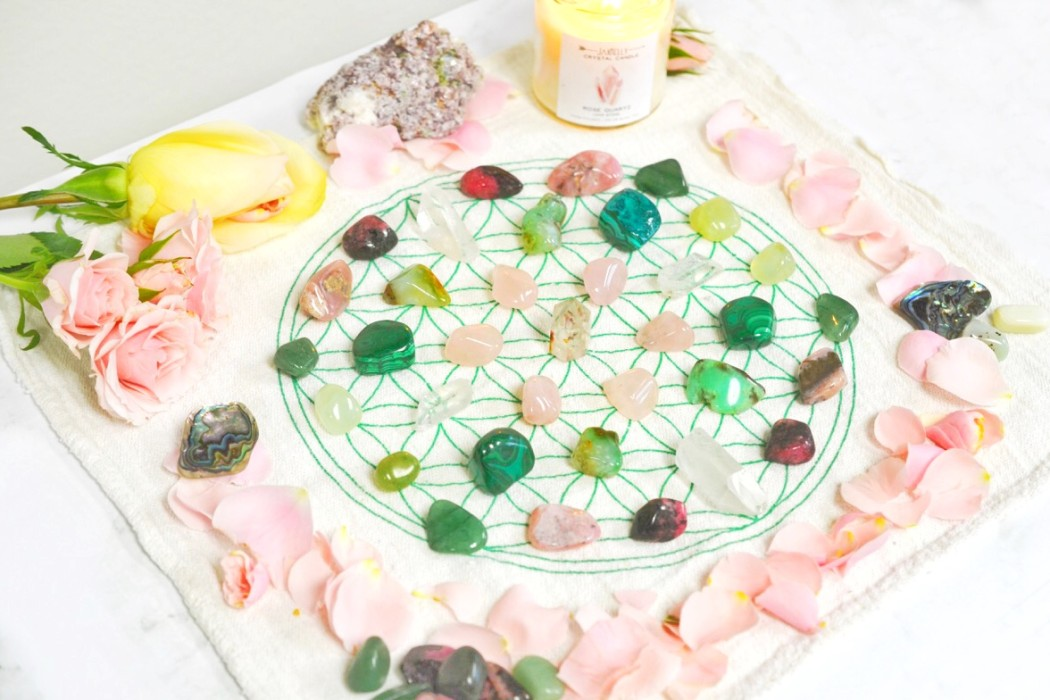 Earth Crystal Grid How To Make A