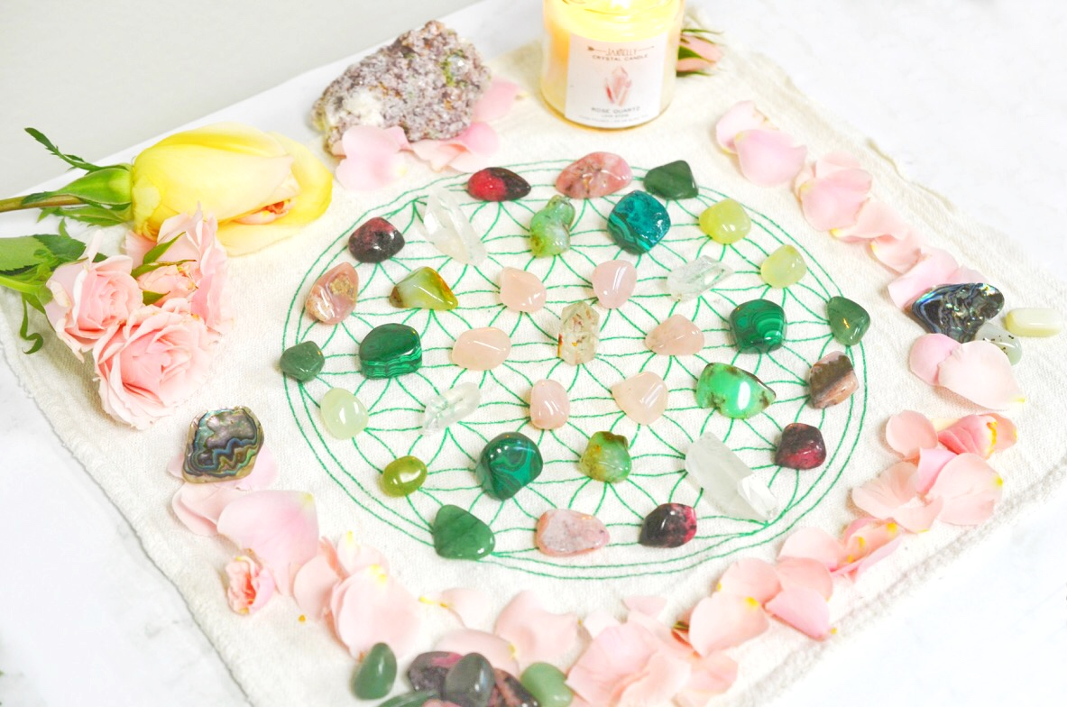 Crystal Grid How To Make Your Own Crystal Gridsenergy Muse Blog