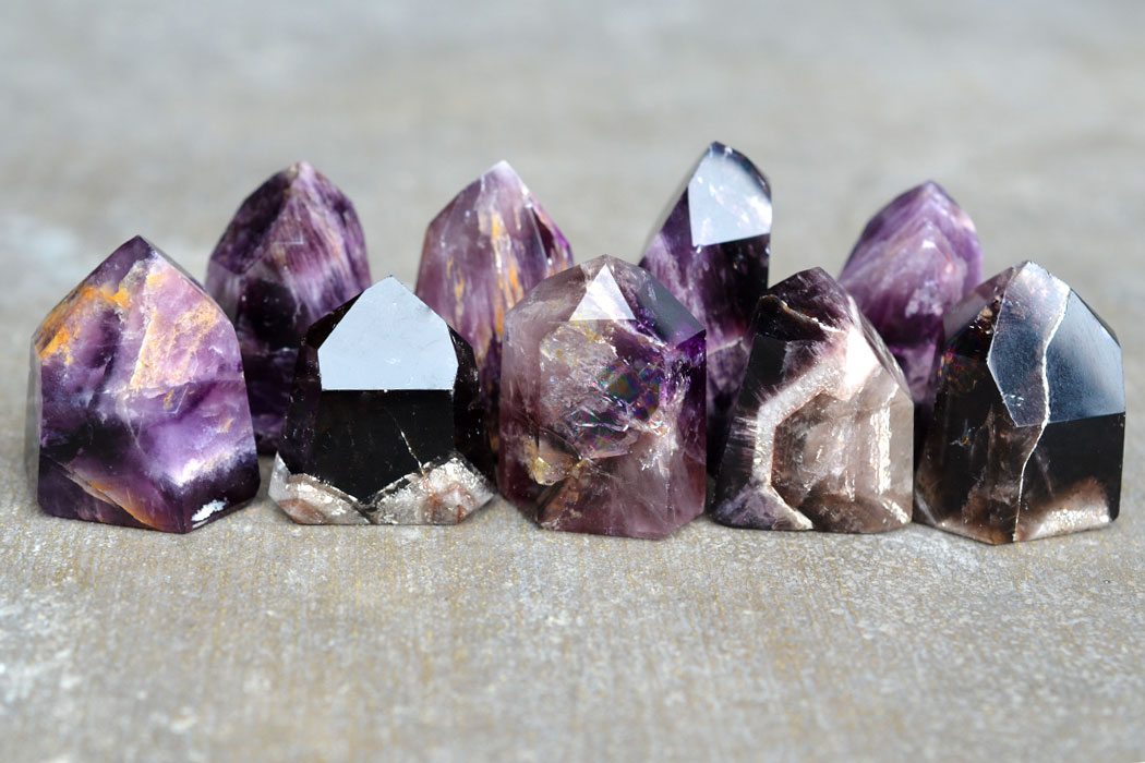 Magical Amethyst Cacoxenite, Melody Stone & Super Seven Crystals