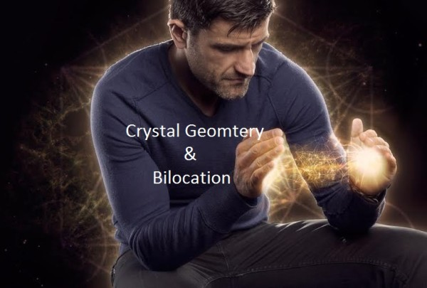 crystal geometry and bilocation
