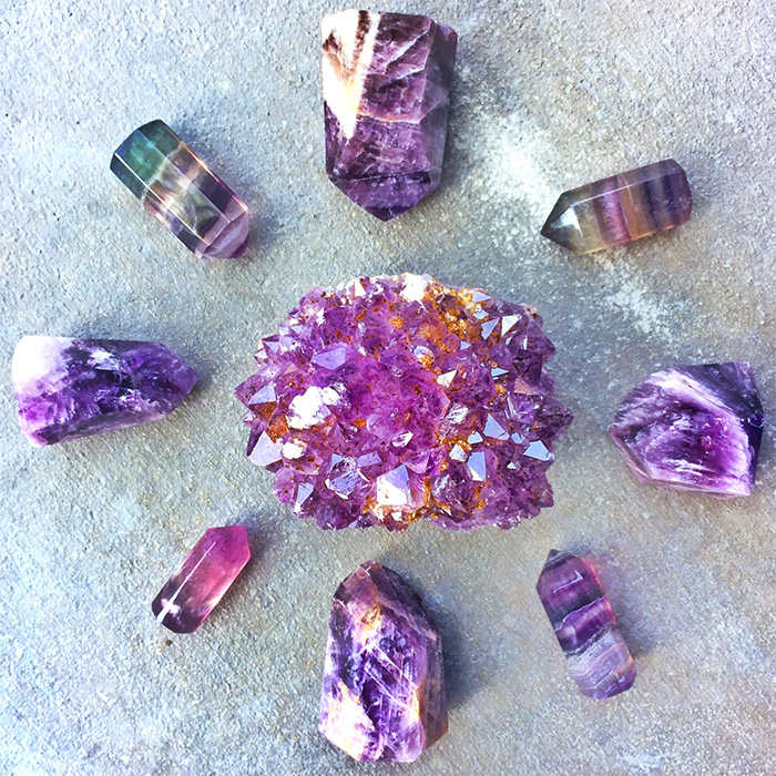 Purple Gemstones, Stones and Crystals for Meditation and ...