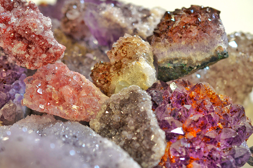 Crystals And Stones : Purple gemstones stones and crystals for meditation