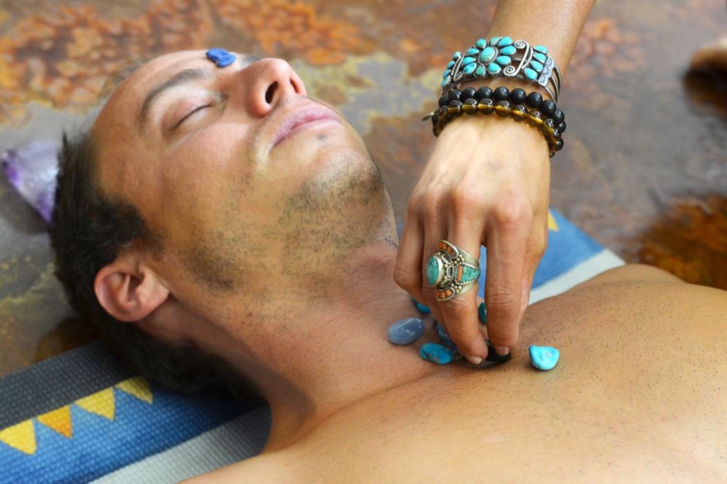 Throat Chakra Healing with Crystals