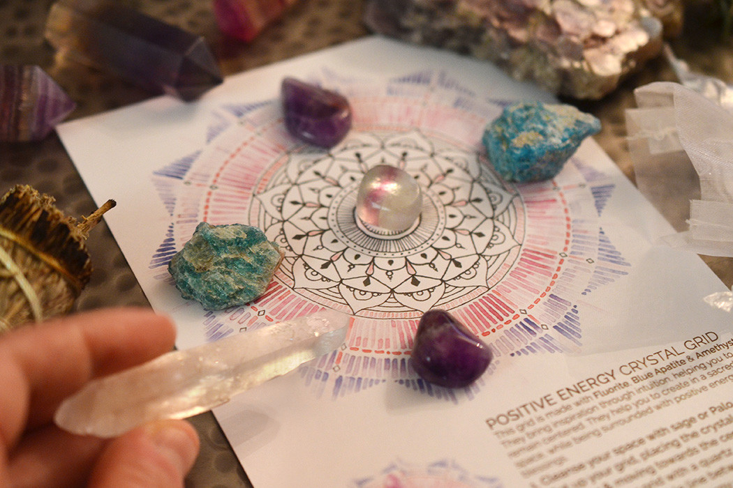 Attract Positive Energy With A Crystal Grid