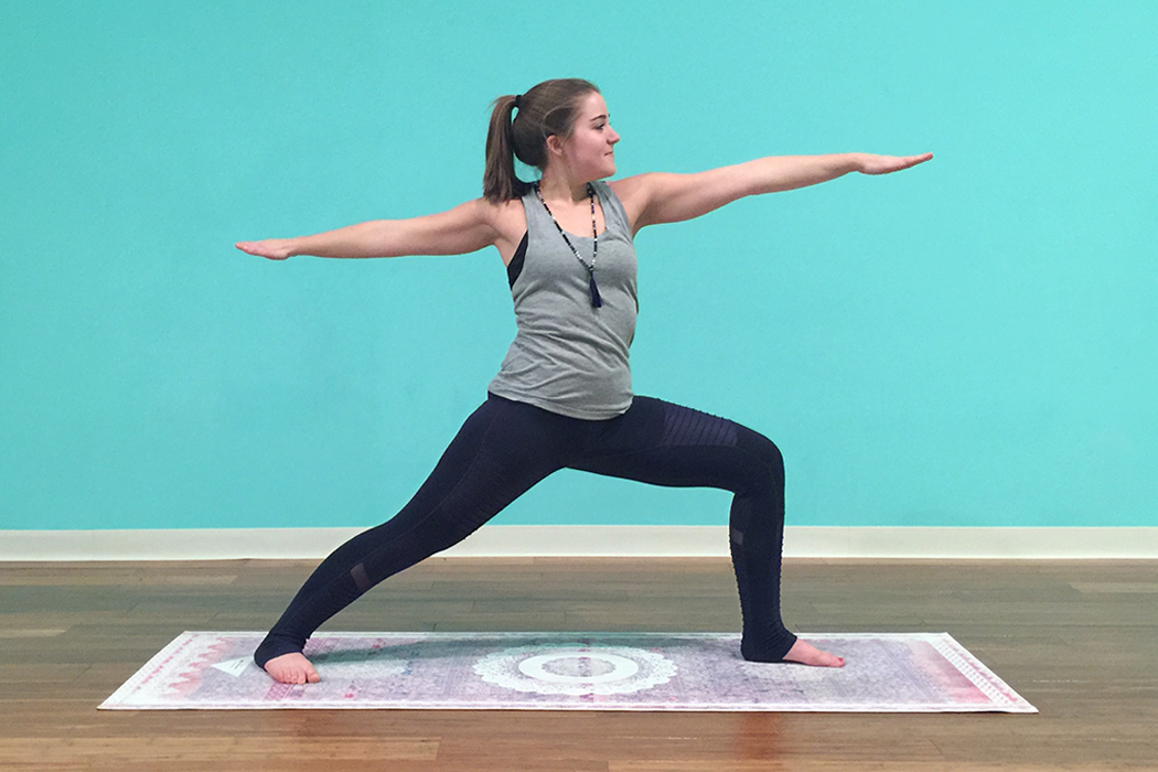 How to do a Calming Moon Salutation