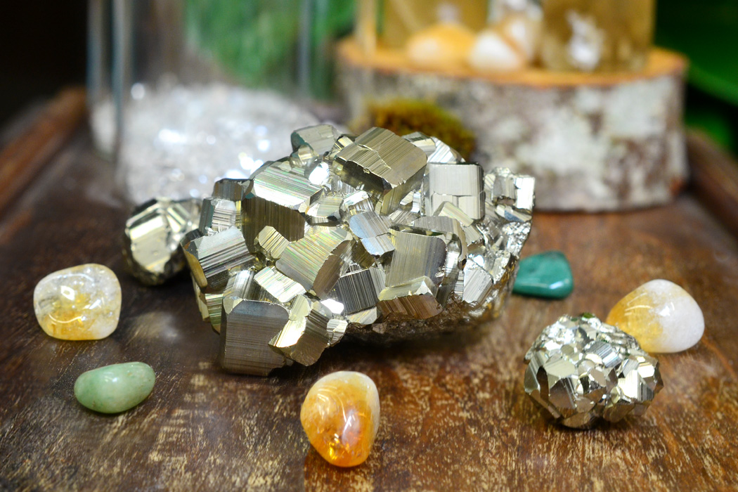 A Pyrite Use for Wealth & Abundance