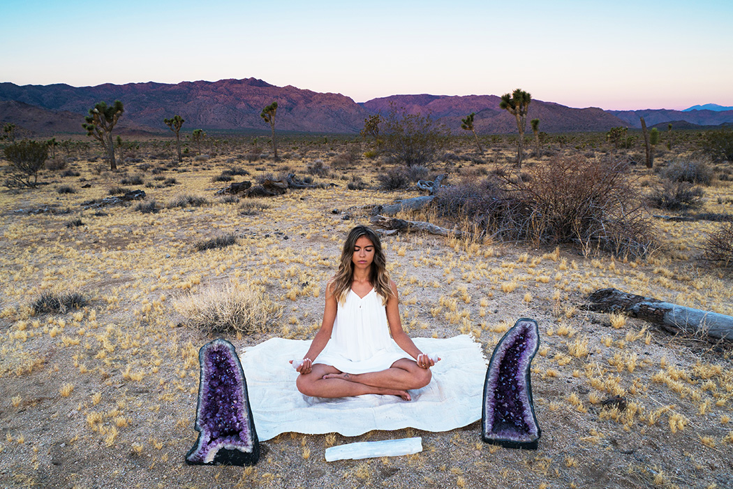 A Guide to Meditating with Crystals