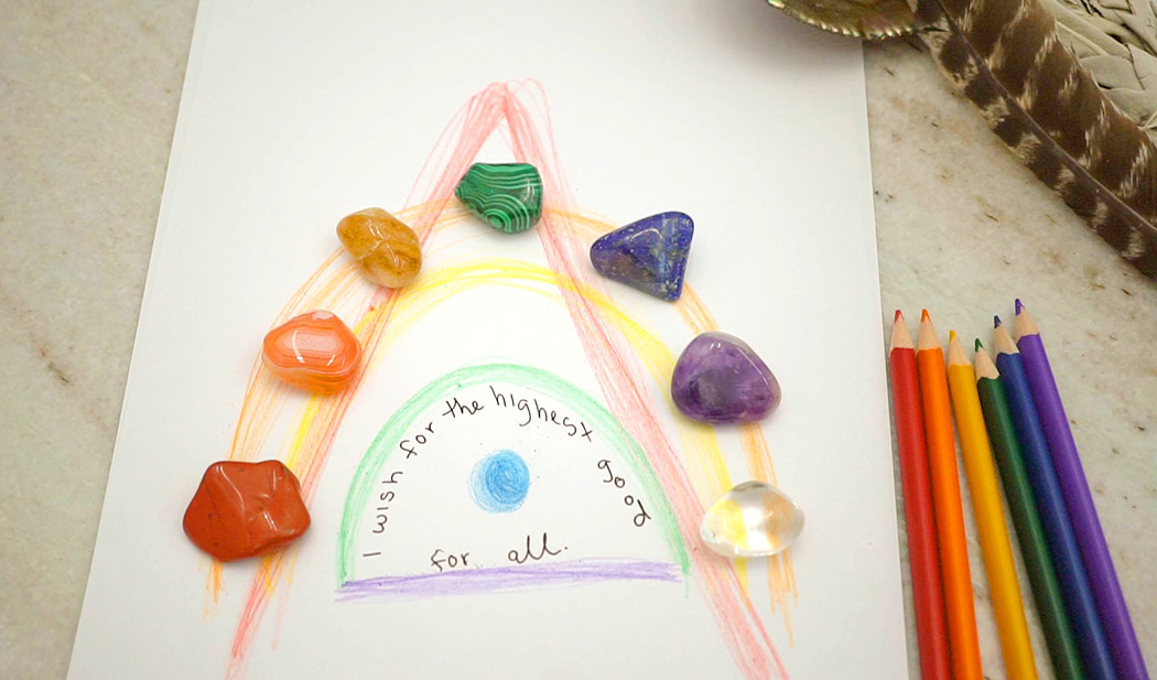 Rainbow Crystal Ritual for Making Wishes