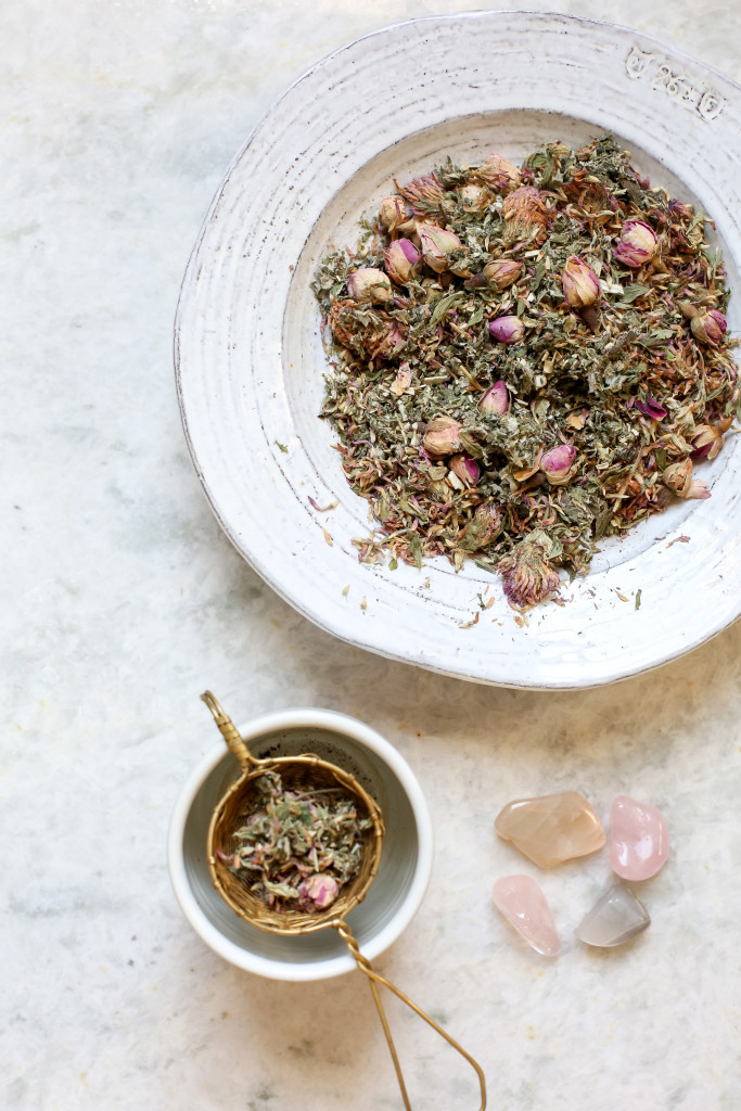 Herbal Lunar Crystal Infusions with Vidya Living