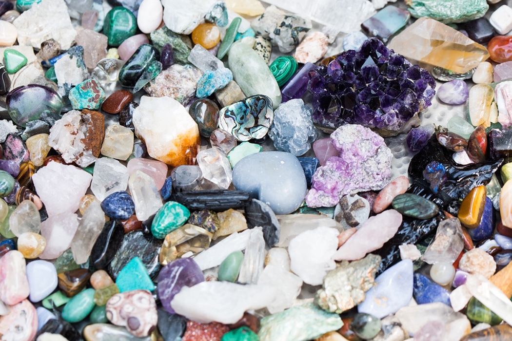 Magnifying Self Affirmations with Healing Crystals