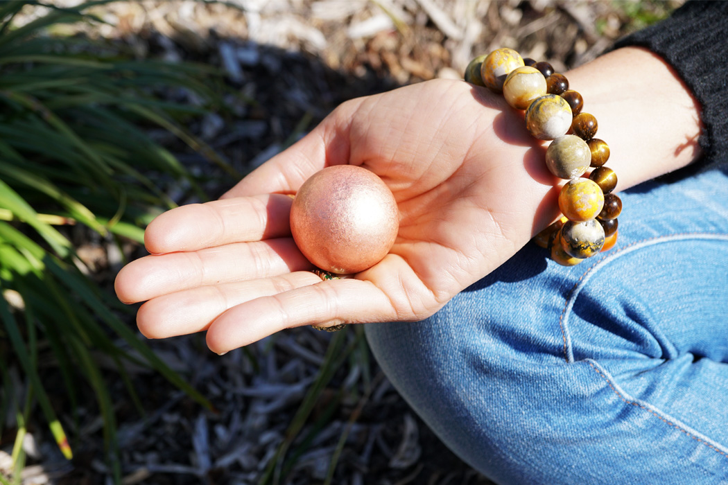 Get Grounded: Earthing Ritual with Copper Spheres