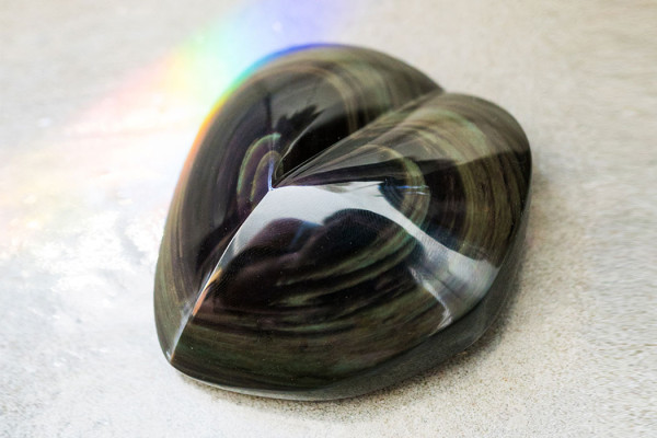 How to Heal a Broken Heart with Rainbow Obsidian
