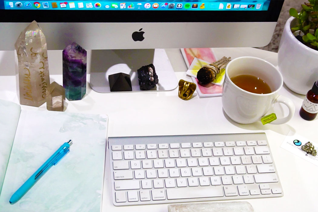 Wellness In The Workplace Turn Your Desk Into A Sacred Space