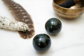 Reflexology Ritual with Rainbow Obsidian
