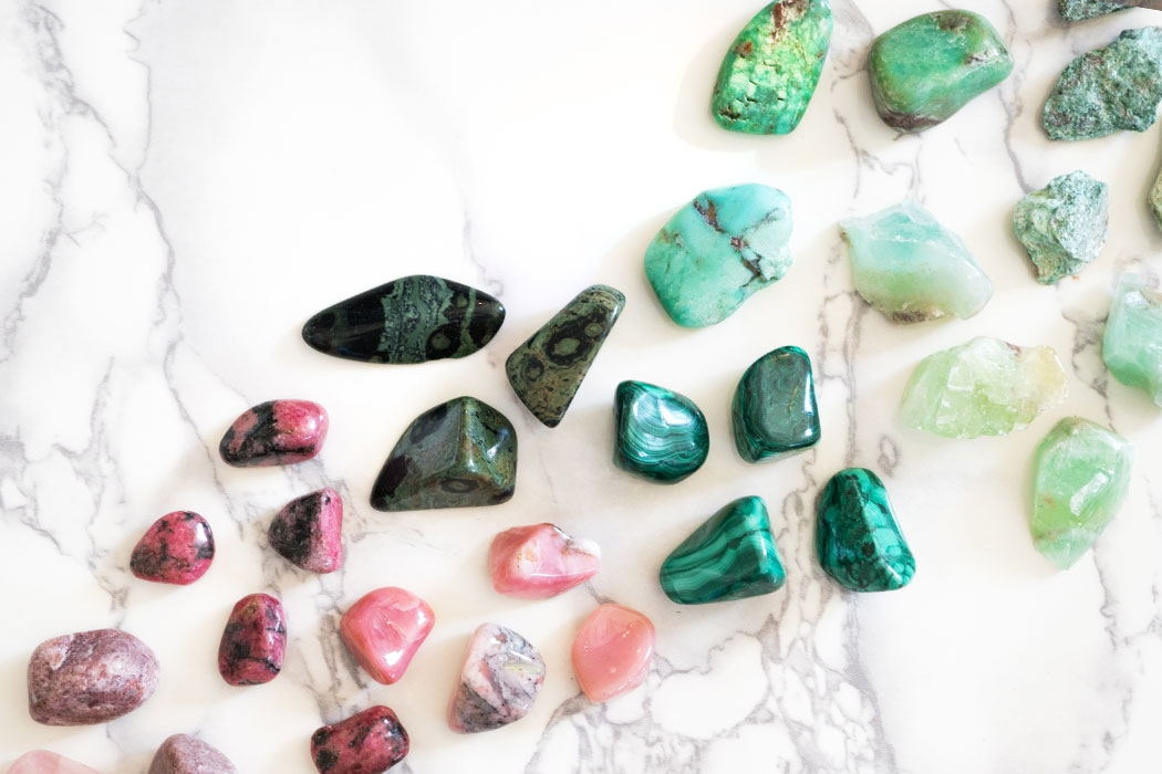 Sending Positive Vibes with Crystals