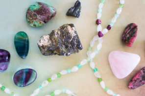 Using Crystals for New Beginnings to Set Intentions